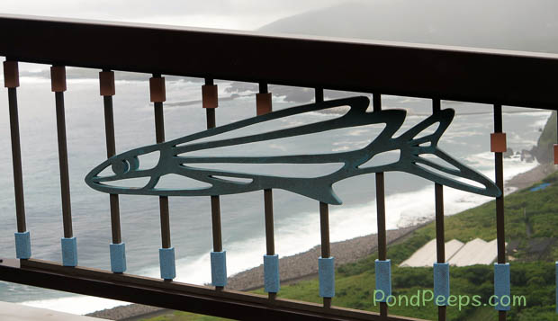 Flying fish guard rail - Hachijojima